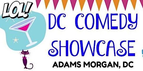 DC Comedy Showcase at Comedy Club DC - Washington, DC (ADAMS MORGAN) tickets