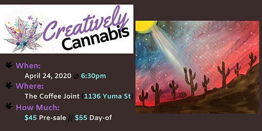 Creatively Cannabis: Tokes and Brushstrokes @ The Coffee Joint (4/24/20)