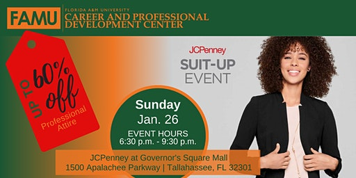 FAMU JCPenney Suit-up Event - Spring 2020