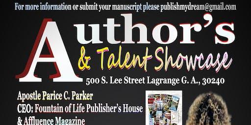 Author's & Talent Showcase
