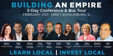 Building an Empire w/ Andrew Holmes (February 2020) tickets