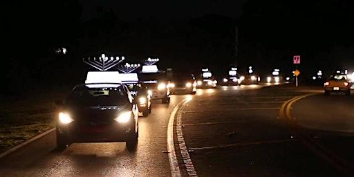 Chanukah Car Menorah Parade