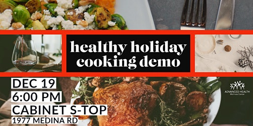 Healthy Holiday Cooking Demo