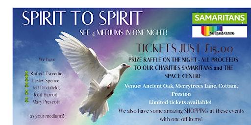 Spirit To Spirit 23 April @ Ancient Oak