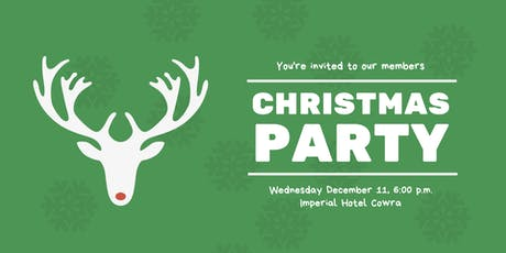 2019 Member's Christmas Party tickets