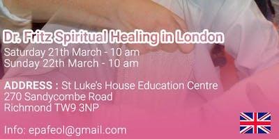 Spiritual Healing with Dr Fritz
