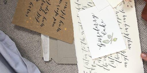The Art of Modern Calligraphy Workshop