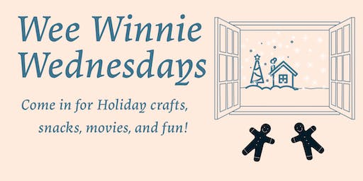 Christmas Cookie Decorating for Wee Winnie Wednesdays