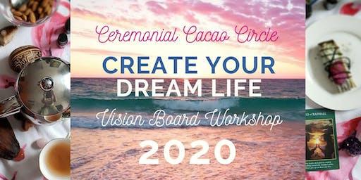 Cacao Circle + Vision Board Workshop 2020