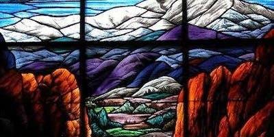 Historical & stain glass window Tour of the Fairmount Cemetery  Community Mausoleum