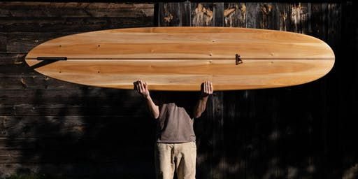 4-Day Wooden Surfboard Building Workshop At Grain Surfboards in Maine