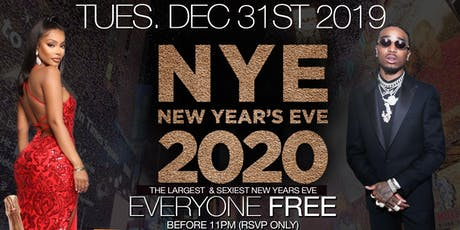 THE LARGEST & SEXIEST NEW YEARS EVE BALL 2020 • FREE ON RSVP • TOAST AT 12 tickets