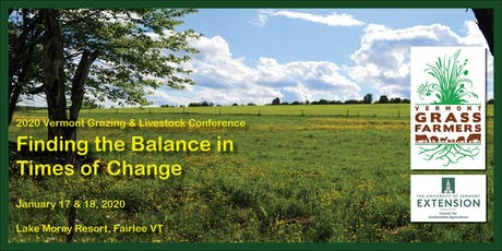 24th Annual Vermont Grazing and Livestock Conference tickets