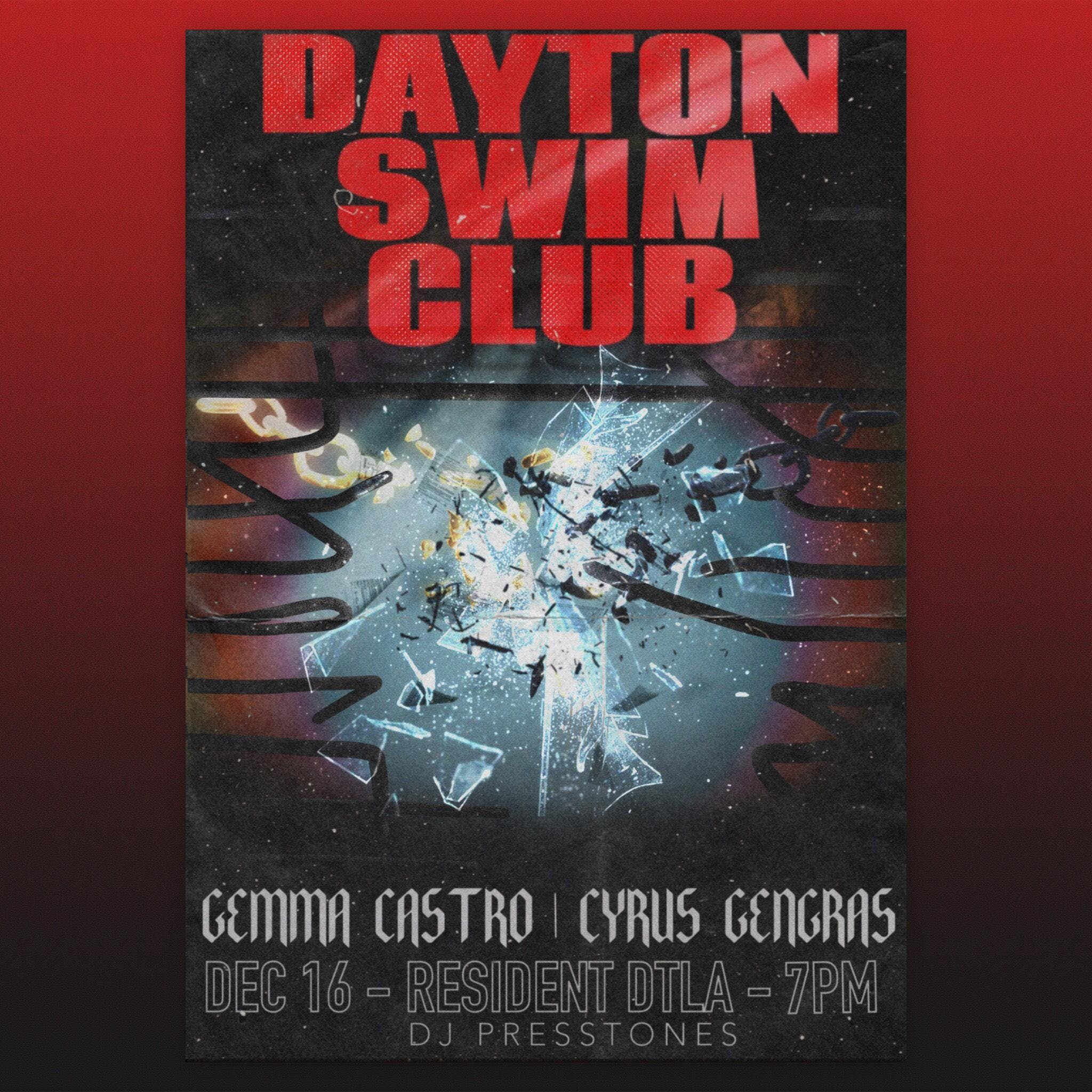Dayton Swim Club, Gemma Castro and Cyrus Gengras