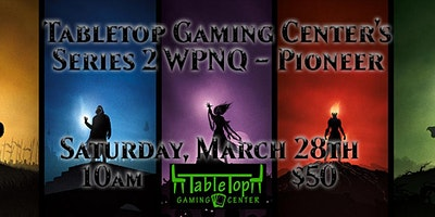Tabletop Gaming Center's Series 2 WPNQ - Pioneer