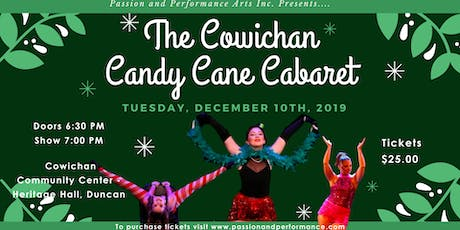 P&P Cowichan's Candy Cane Cabaret 2019 tickets