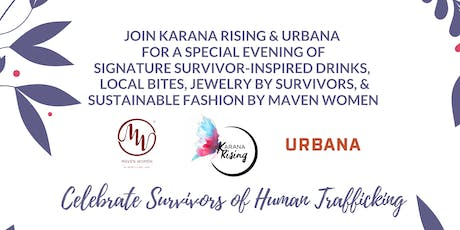 Celebrate Survivors of Human Trafficking: A Holiday Gathering tickets