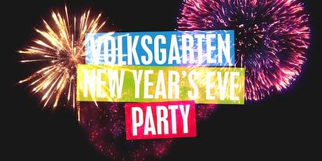 Volksgarten New Year's Eve Party 2019 tickets