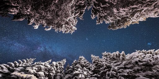 Snowshoes Under the Stars - 3220