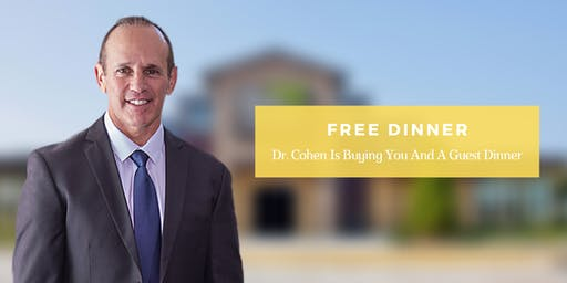 Pain Free Naturally | Free Dinner with Dr. Michael Cohen, DC