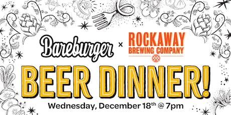 Bareburger x Rockaway Brewing Co. Beer Dinner tickets