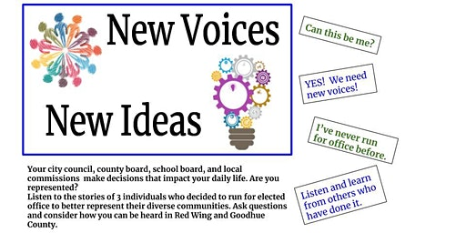 New Voices.  New Ideas.