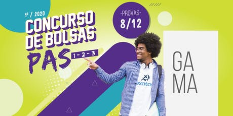 CONCURSO DE BOLSAS PAS- GAMA ingressos