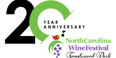 20th Anniversary of the North Carolina Wine Festival at Tanglewood Park tickets