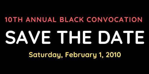 10th Annual Black Convocation