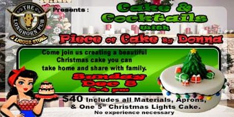 Christmas Cake & Cocktails tickets