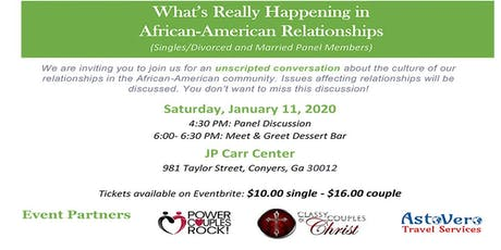 What's Really Happening In African-American Relationships? tickets