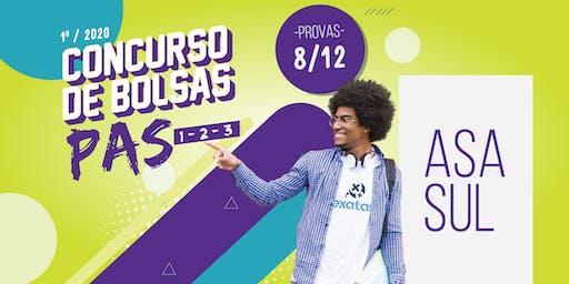 CONCURSO DE BOLSAS PAS-  ASA SUL