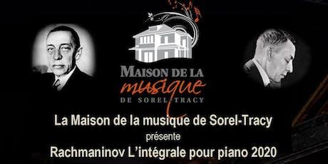 Rachmaninov : L'intégrale pour piano 2020 billets
