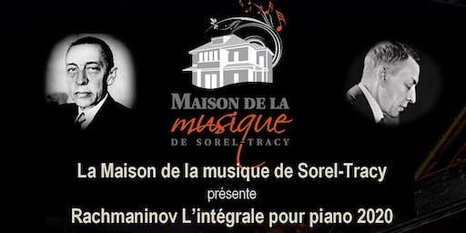 Rachmaninov : L'intégrale pour piano 2020