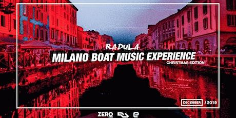 Milano Boat Music Experience // Christmas Edition Pubblico · Orga biglietti