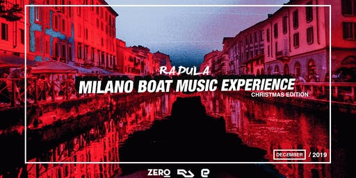 Milano Boat Music Experience // Christmas Edition Pubblico · Orga