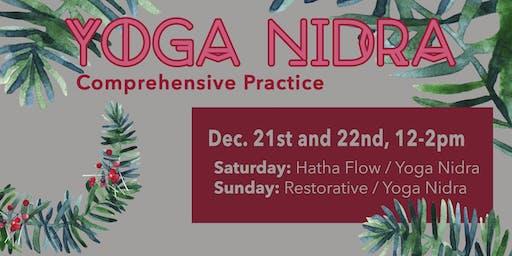 Yoga Nidra Comprehensive Practice w/ Cheri Neal