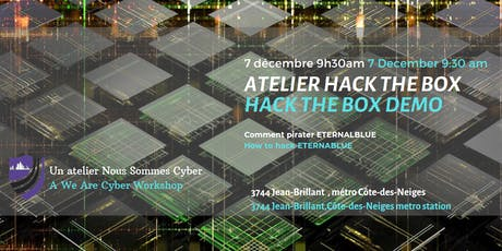 Atelier Nous Sommes Cyber - We Are Cyber Workshop tickets