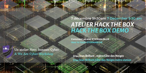 Atelier Nous Sommes Cyber - We Are Cyber Workshop