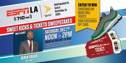 Sweet Kicks & Tickets Sweepstakes at Sprint!