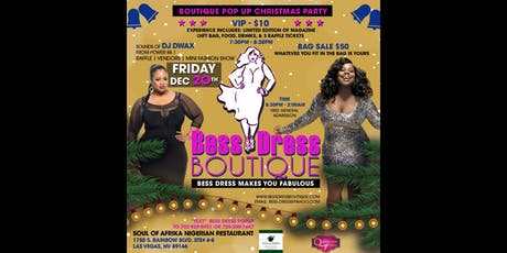 Boutique Pop Up Christmas Party tickets