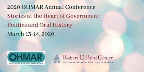 Stories at the Heart of Government: Politics and Oral History tickets