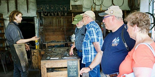 Intermediate Blacksmithing at The Farmers' Museum