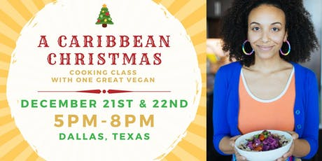 A Caribbean Christmas Cooking Class tickets