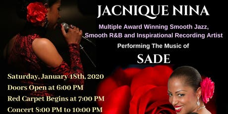 JACNIQUE NINA Live In Concert Celebrating The Music of SADE tickets