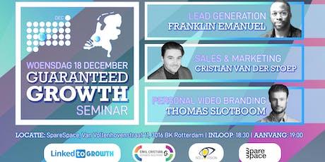Guaranteed Growth Seminar tickets