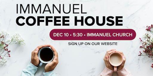 Immanuel Coffee House - December 2019