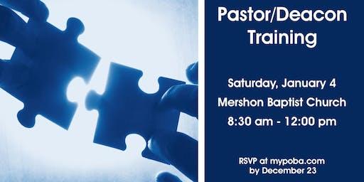 2020 Pastor/Deacon Training