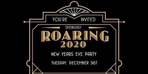 Roaring 2020 New Years Eve Party at The Hive