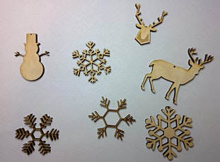Laser Cutting Workshop for Beginners: Christmas ornaments! tickets
